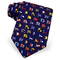 International Code Flags Silk Tie