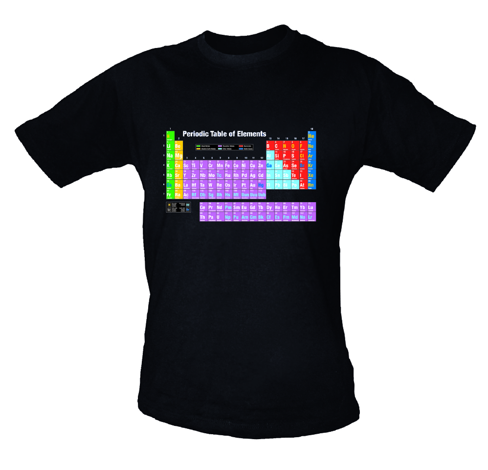 Periodic table t shirt museums wellington urtaz Image collections