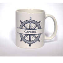 Captain Mug, Mug, Maritime, Ceramic, Gift, Homewares