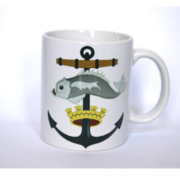 Wellington Harbour Board Emblem Mug