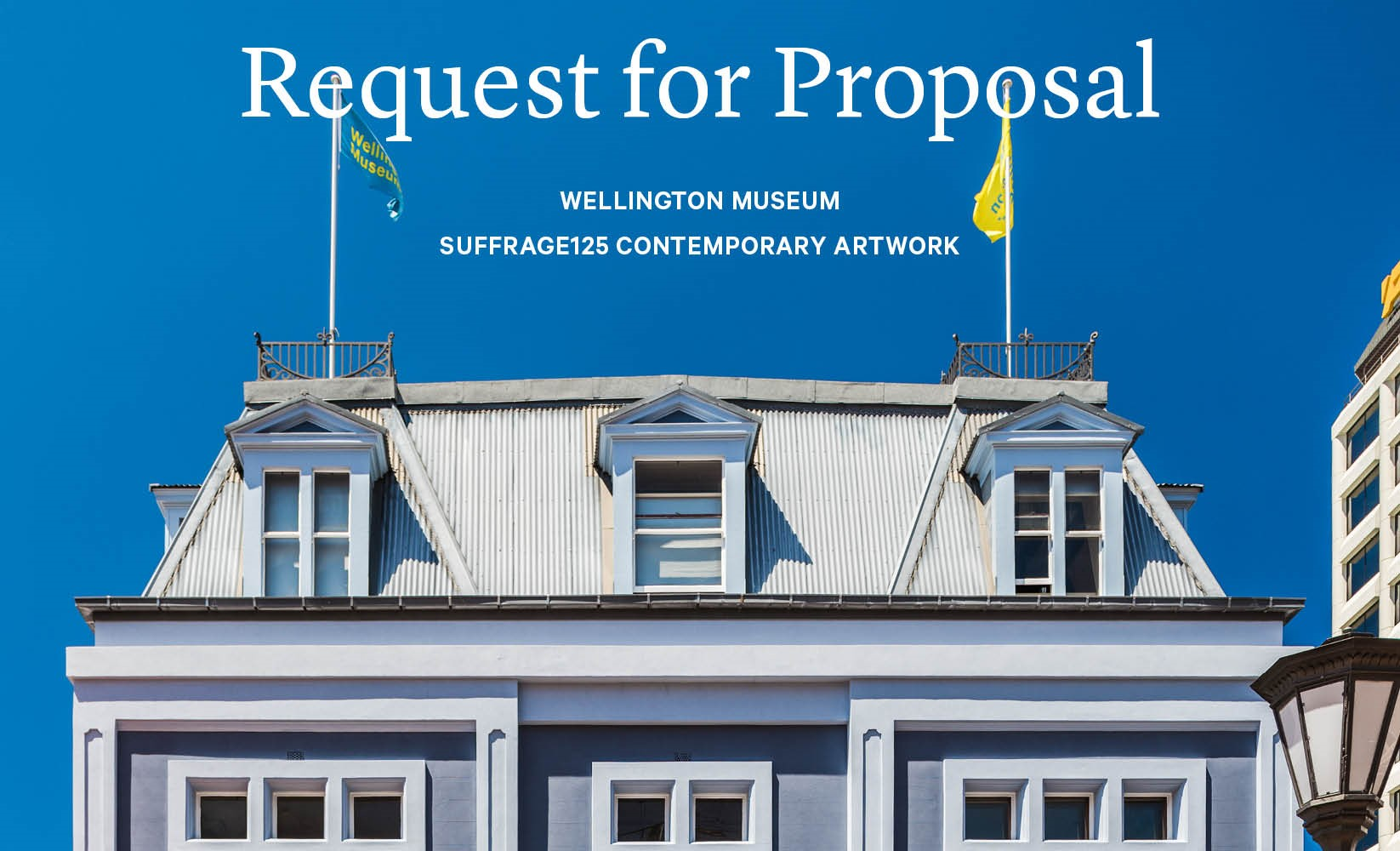 Suffrage 125 contemporary artwork: Request for Proposal